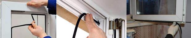 Замена и уход за уплотнителем на пластиковых окнах