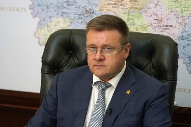 Губернатор Рязанской области посетил Александро-Невский район