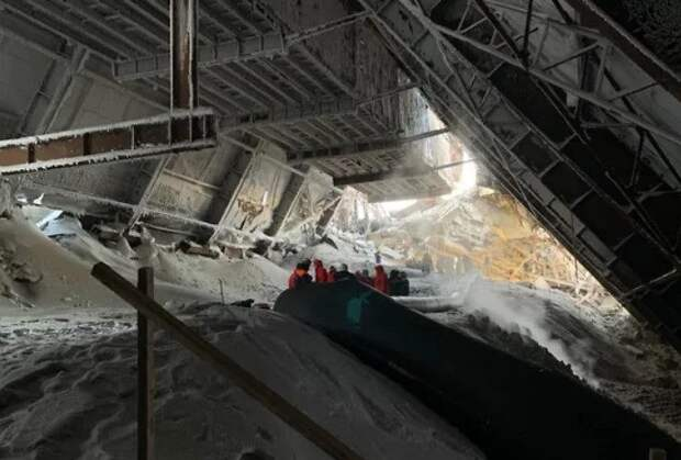 На одной из фабрик «Норникеля» произошло обрушение. Есть жертвы