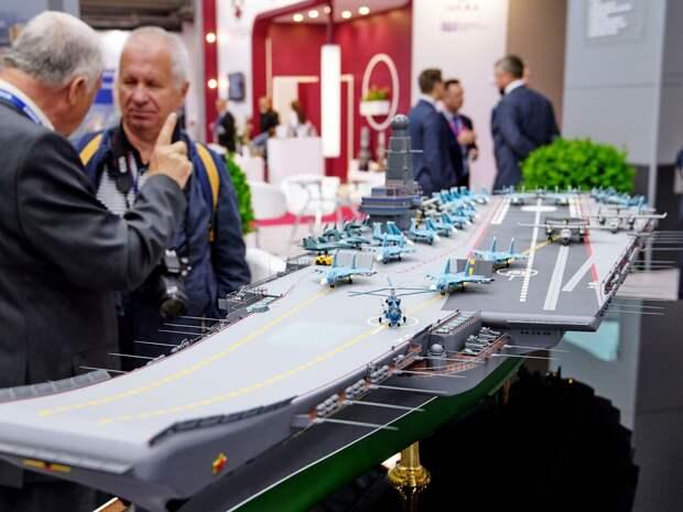 Как создать серию крупных авианосцев для ВМФ России
