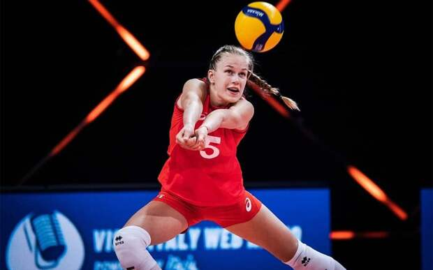 Российские волейболистки проиграли Турции в матче Лиги наций