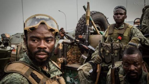 Армия ЦАР освобождает поселения в префектурах Мбому и Нижнее Котто