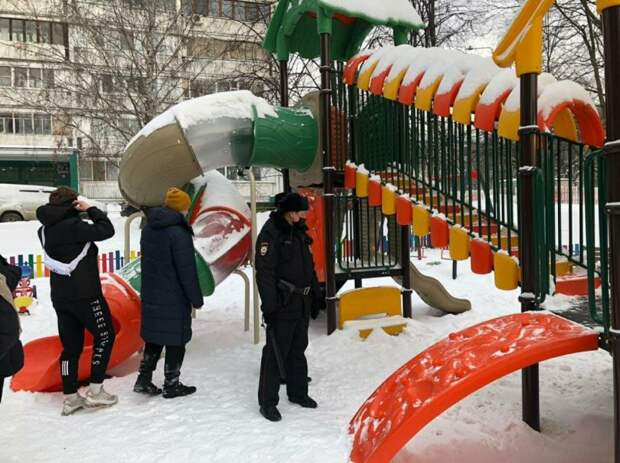 Полиция и активисты района запретили гуляния по тонкому льду Головинского пруда