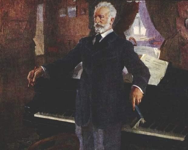 Портрет П.И. Чайковского. (1940 год). Автор: Василий Сварог.