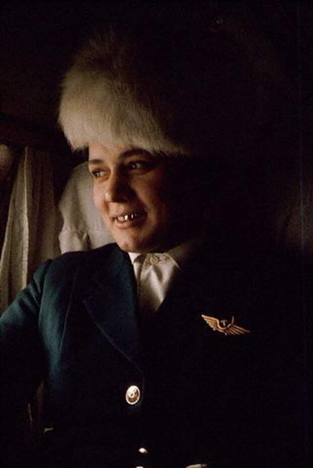 059 Стюардесса Тамара на Ил-14, рейс Иркутск – Якутск