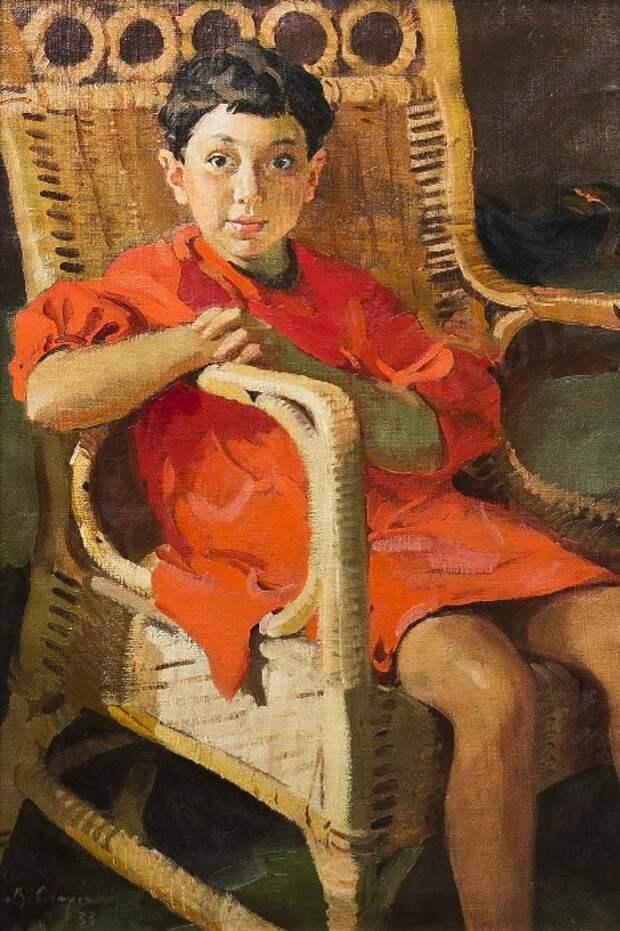 Портрет Светланы Халатовой. Автор: Василий Сварог.