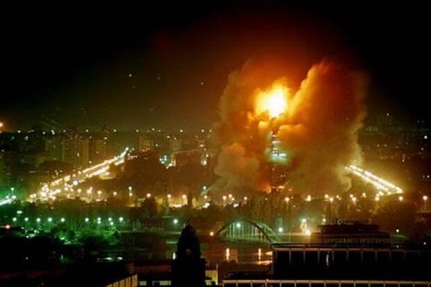 НАТО назвало бомбардировки Югославии «необходимыми»