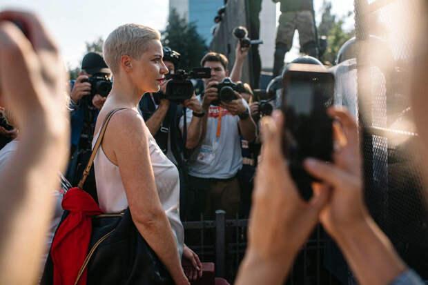 В Белоруссии арестовали Марию Колесникову