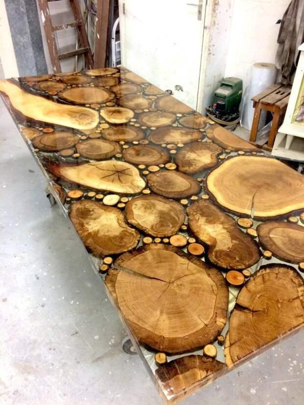 срезы дерева