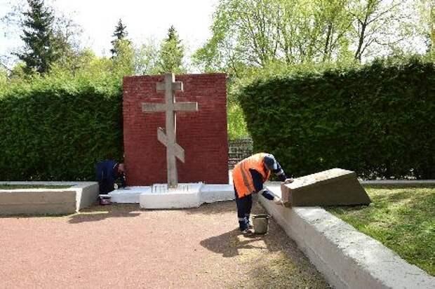 В Тамбове приводят в порядок памятники и воинские захоронения
