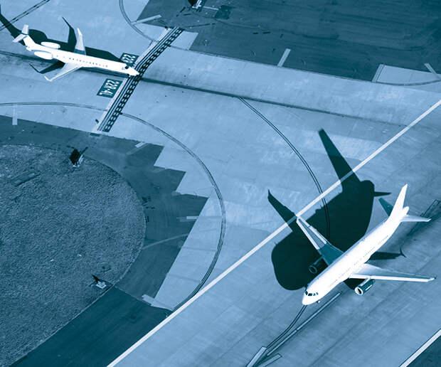 Алгоритм SmartRunway обеспечивает контроль за положением самолета и его траекторией