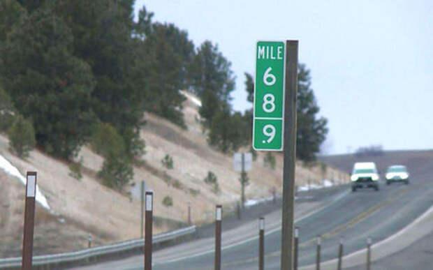 В США знаки «69» из-за воровства заменили на «68,9»