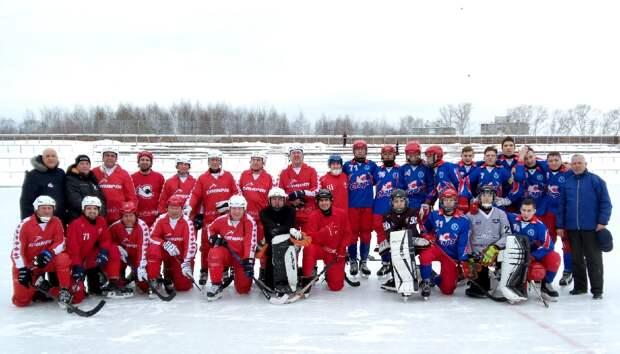 Команда «Старт-ветераны» выиграла чемпионат Нижегородской области по хоккею с мячом