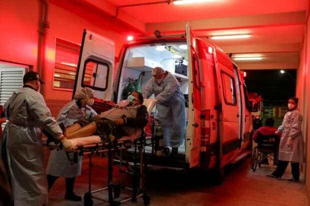 В мире за сутки выявили более 677 тыс. случаев COVID-19