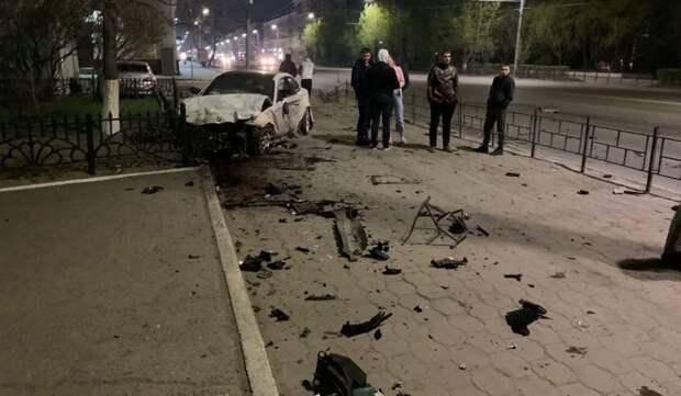 Авария дня.  Момент страшного ДТП в Омске