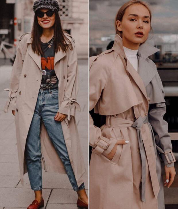 Как и с чем носить тренч весной 2021: стильные и универсальные варианты
