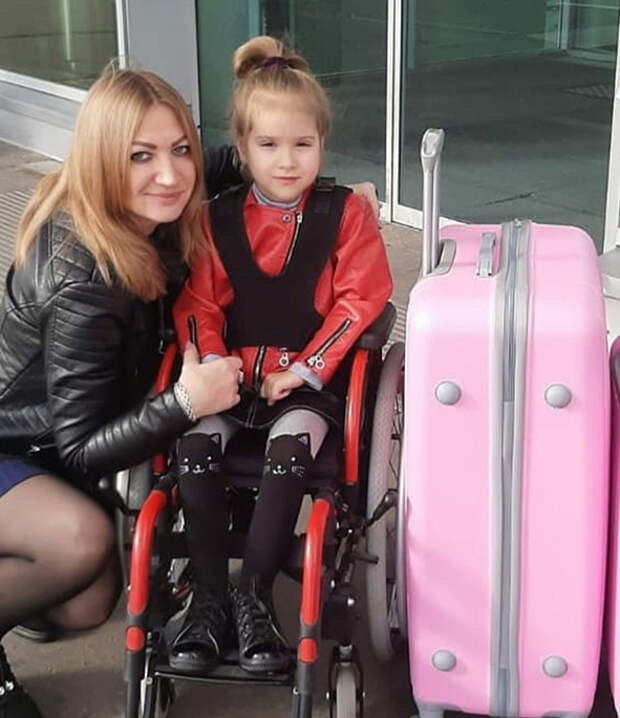 Милана Тарасенко улетела на реабилитацию в Грецию!