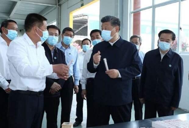 Си Цзиньпин проинспектировал крупный проект переброски воды в Китае