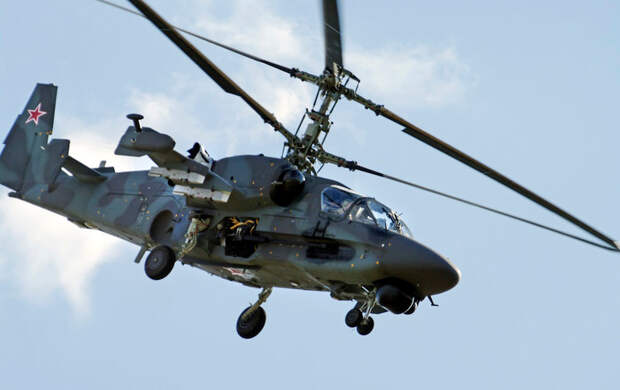 PERFORMANCE: The Ka-52 has a top speed of 196 mph, a maximum altitude of 18,044 feet and maximum range of 683 miles.
