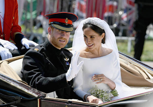 Свадьба принца Гарри и Меган Маркл,