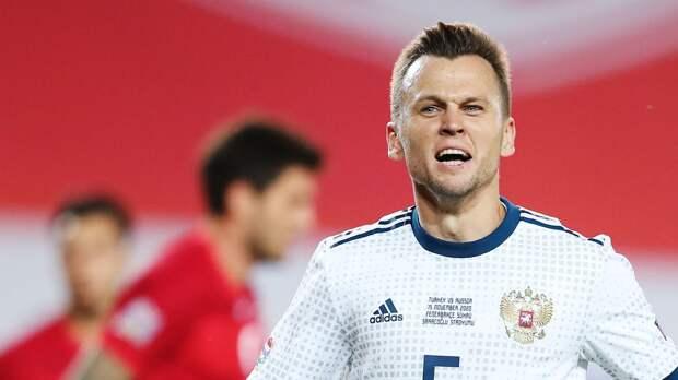 Черышев прибыл в расположение сборной России в Австрии