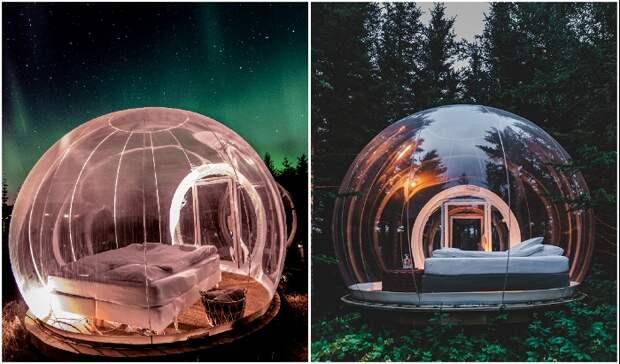 Уникальный отель-пузырь в Исландии