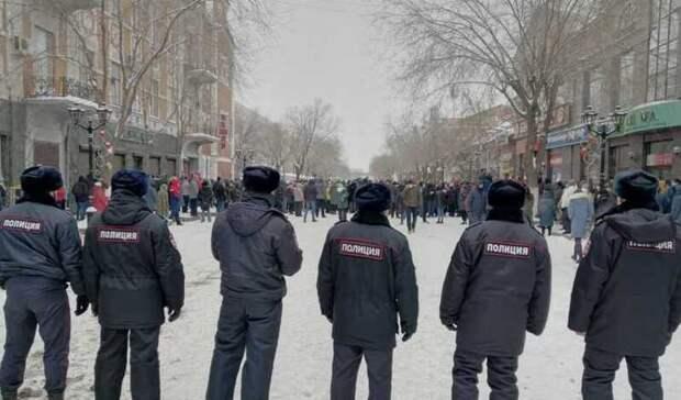 Оренбуржцев продолжают штрафовать заучастие взимних митингах Навального