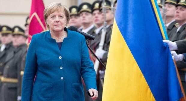 Программа визита Меркель стала для Киева неприятным сюрпризом