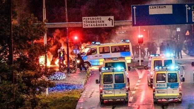 Сожжение Корана привело к массовым беспорядкам в Швеции