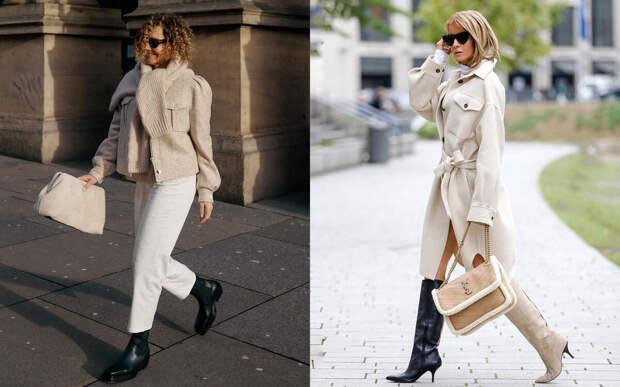 7 эстетских нарядов на 10-15 градусов С°— будут чудо, как хороши на женщинах разных возрастов