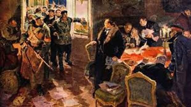 Власть каких помещиков и капиталистов свергали в 1917?