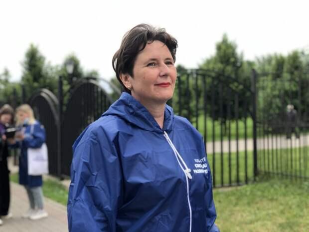 Правозащитница Разворотнева провела опрос по инициативам, связанным с пенсионерами. Фото: Екатерина Бибикова
