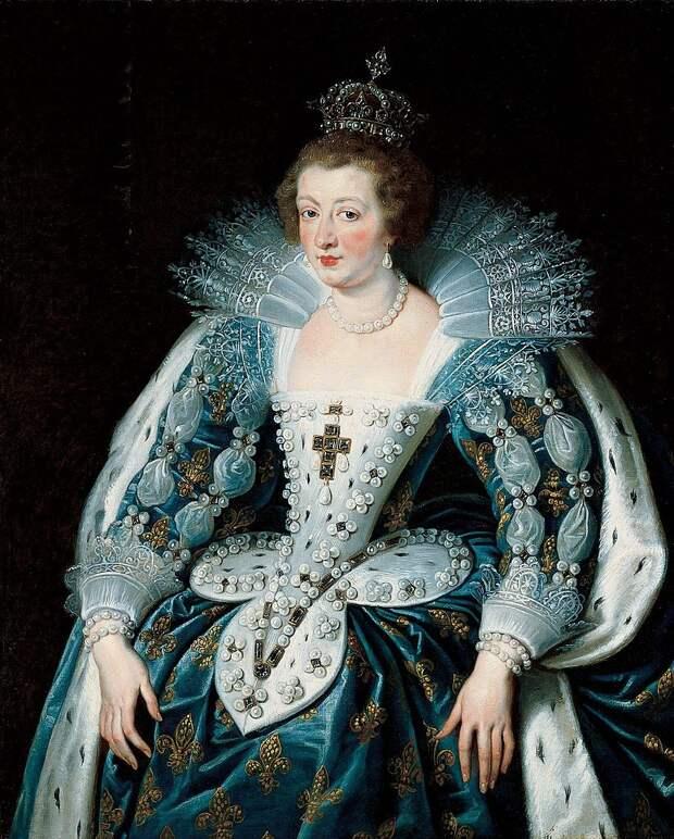 Анна Австрийская, Питер Пауль Рубенс, 1623-25. (сс) Wikimedia Commons