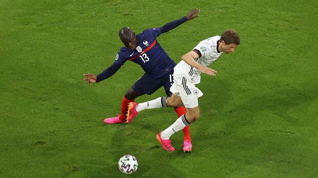 Битва последних чемпионов мира: Франция обыгрывает Германию благодаря автоголу Хуммельса на Евро-2020