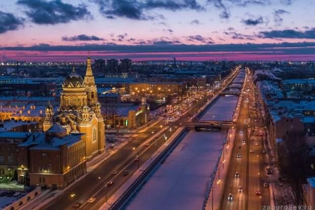 Раньше здесь были рабочие кварталы. /Фото:zaburdaev.ru