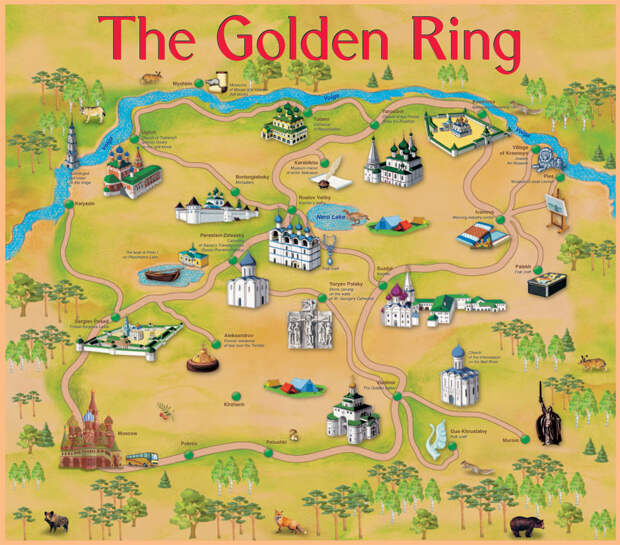 Golden Ring of Russia: Incredible Ancient Cities Near Moscow