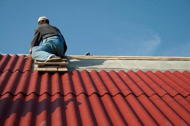 Монтаж шиферной крыши своими руками