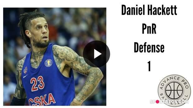 Daniel Hackett - PnR Defense 1