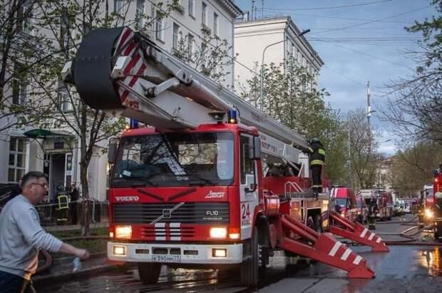 По делу о пожаре в гостинице «Вечный зов» задержаны два человека