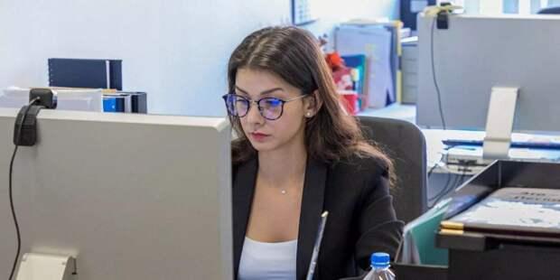 Более тысячи заявок подали на стажировку в Комплексе соцразвития/mos.ru