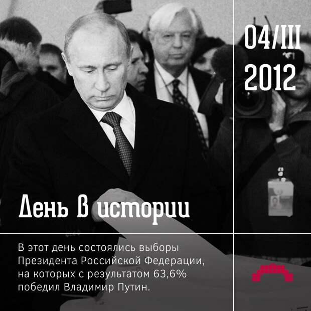 Главный итог и урок пятилетки президентства Путина