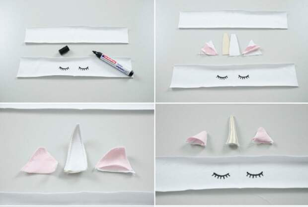 Носки-единороги (выкройка, МК)