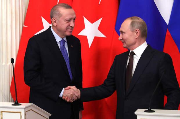 Эрдоган оценил ответ Путина на неприемлемые обвинения Байдена