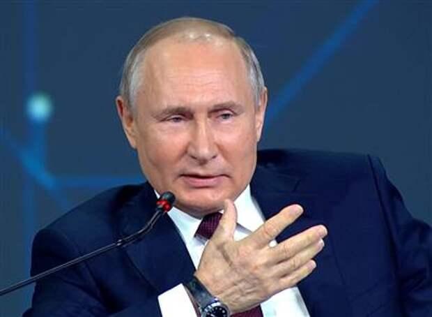 Российско-американские отношения стали заложниками внутриполитических процессов - Путин