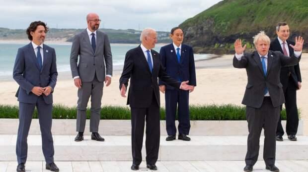 "Байден обидел британцев на G7: ""Спал и не услышал, как звенит будильник"""