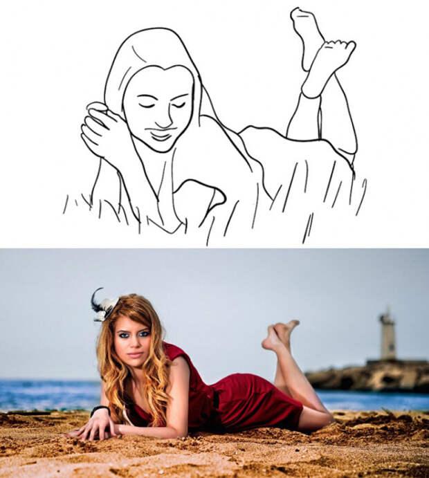 20 самых удачных поз для женской фотосессии