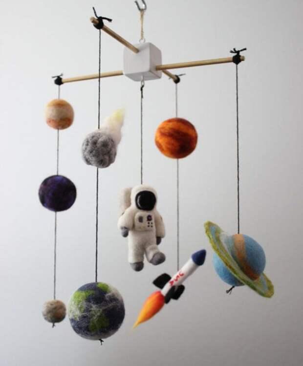 Космос в детской комнате своими руками