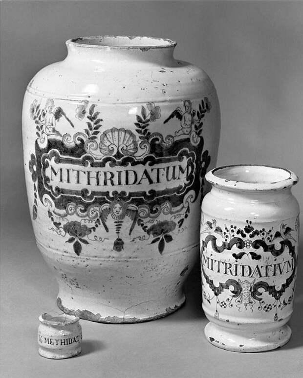 Митридатий - универсальное противоядие. | Фото: allday.com.