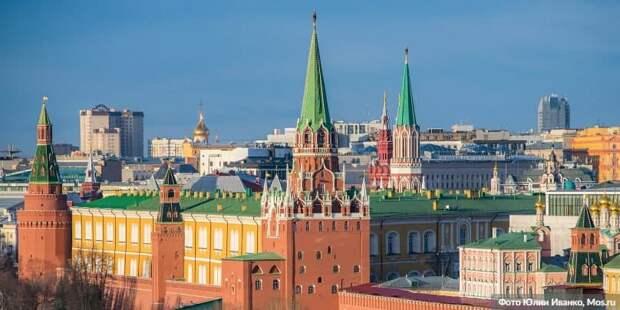 Собянин: Москва не останавливала реализацию программ развития, несмотря на пандемию .Фото: Ю. Иванко mos.ru