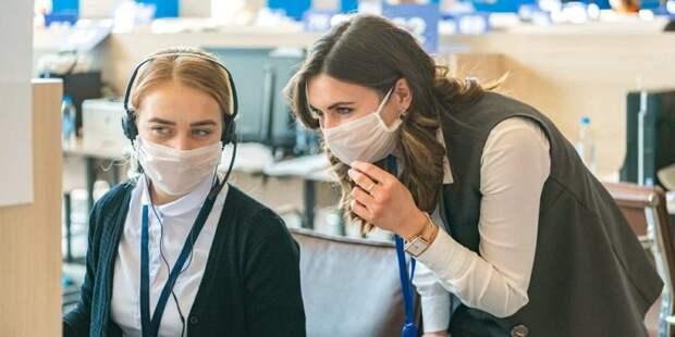 Более 12 тыс москвичей зарегистрировались волонтерами акции «Мы вместе». Фото: mos.ru